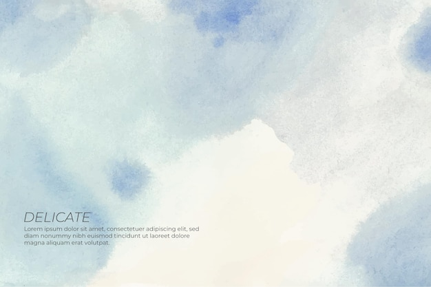 Soft background in watercolor Free Vector