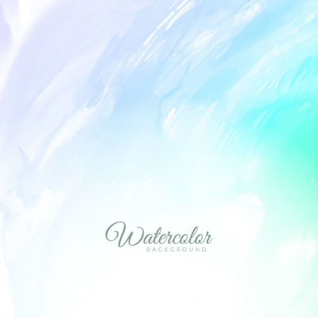 soft blue watercolor background vector free download