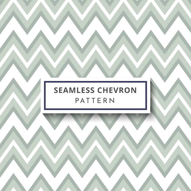 Soft green chevron seamless pattern Premium Vector