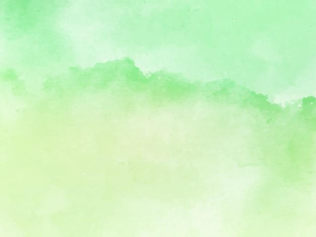 柔らかい緑水彩テクスチャエレガントな背景 無料ベクター