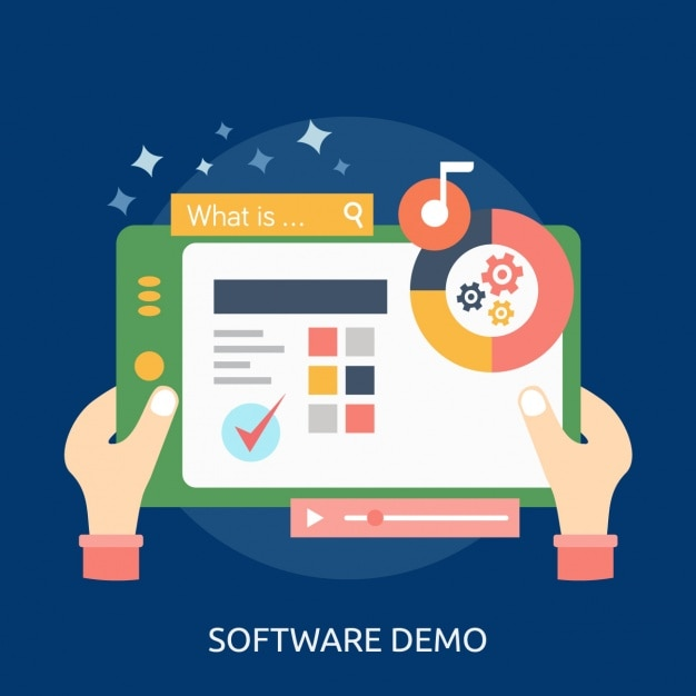 Software Background Design Vector Free Download