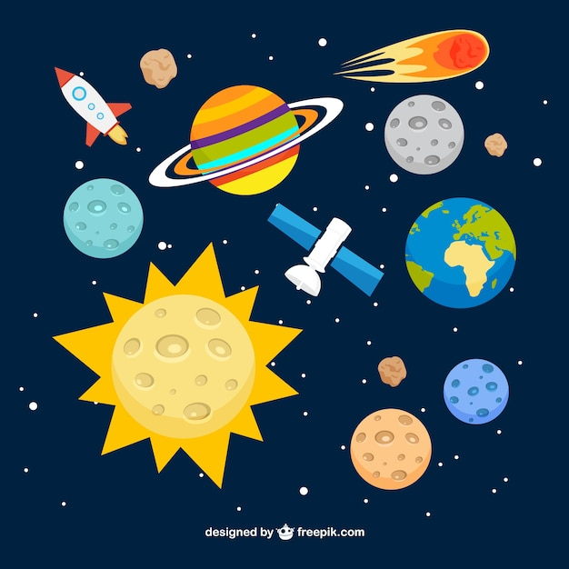 solar system vector - photo #19