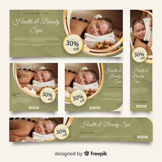 Free Spa Beauty Banner Vectors 1 000 Images In Ai Eps Format