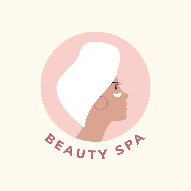 Spa and beauty icon vector Free Vector
