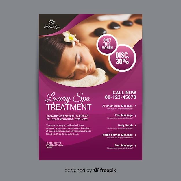 Spa Brochure | Spa Brochure Vector Free Download