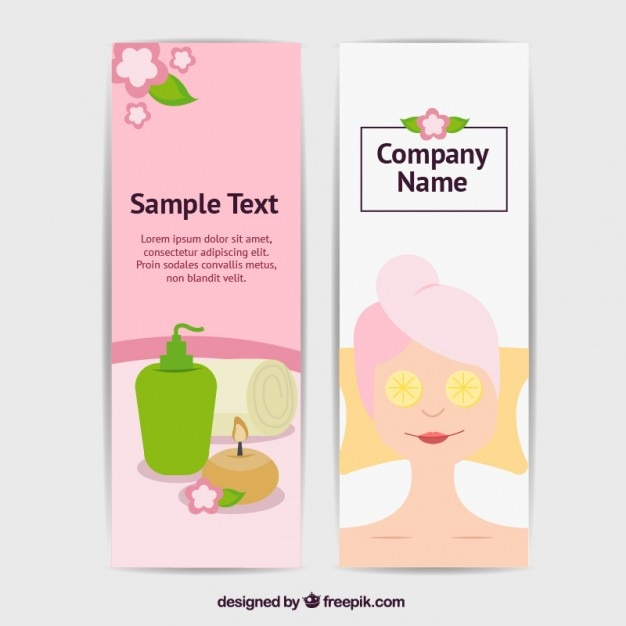 Spa Flyer Templates Vector Free Download