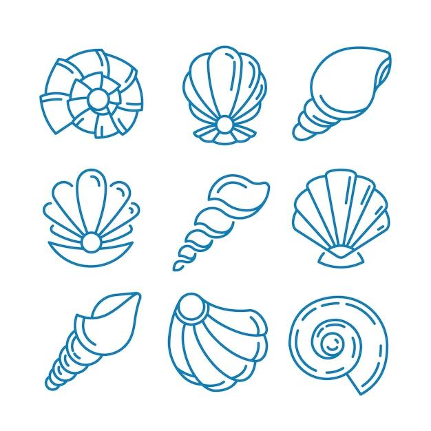 Design del logo spa salon. Vettore gratuito