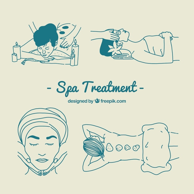 Spa treatment set
