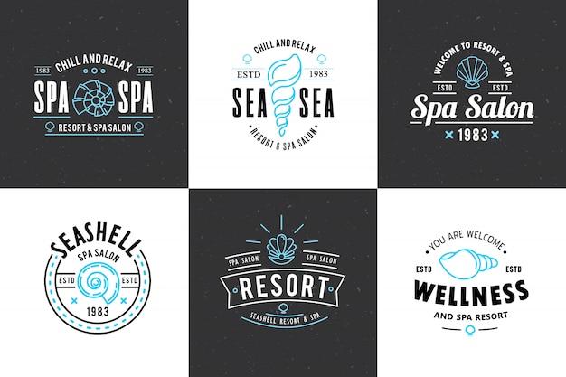 Логотип spa-салона Бесплатные векторы