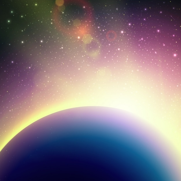 Space background design