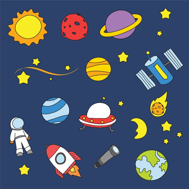 Space background design vector free download for Design a space online
