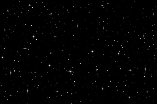 Space background with stars. vector illustration Premium Vector