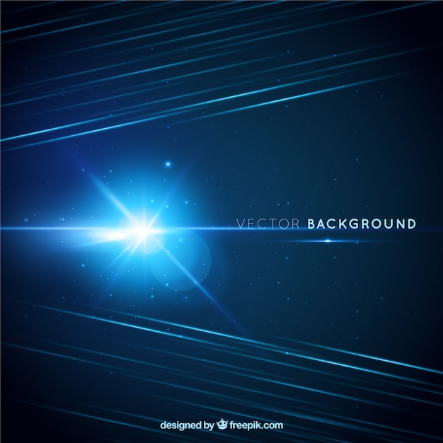 Space flash background Free Vector
