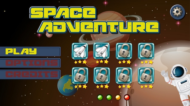 Space games Vector | Free Download