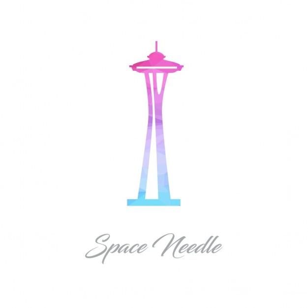 Space Needle Polygon