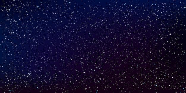 우주 별 배경입니다. 밤하늘의 그림입니다. 프리미엄 벡터
