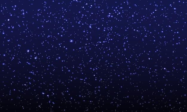 Space stars background. illustration Premium Vector