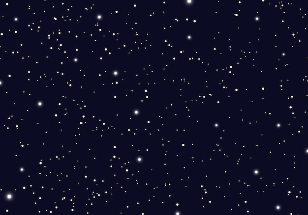 Space with stars universe space infinity background Premium Vector