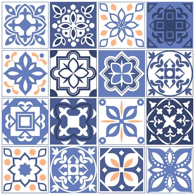 Испанские сказки с цветочной текстурой Premium векторы
