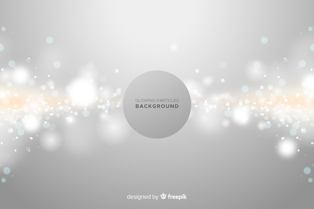Sparkling particles background Free Vector