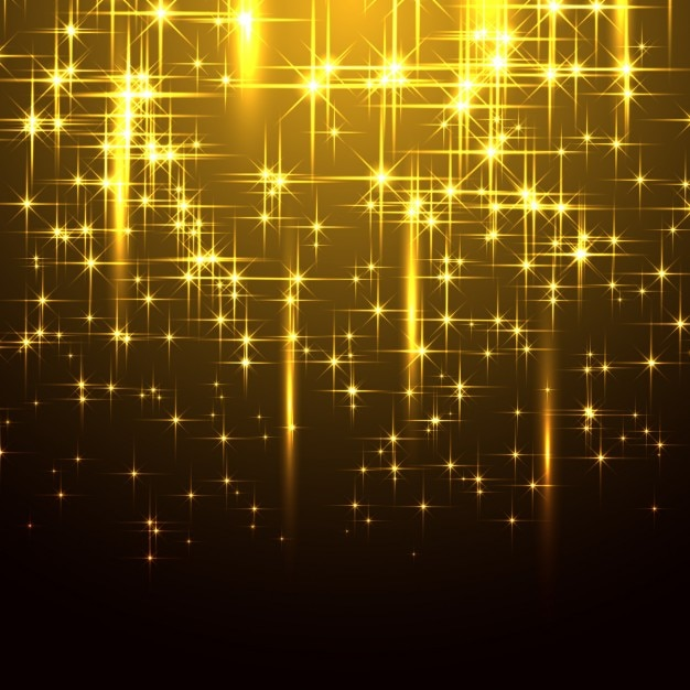sparkling yellow background vector free download