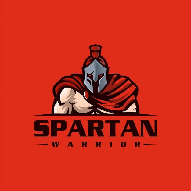 Spartan logo design ready to use Premium Vector