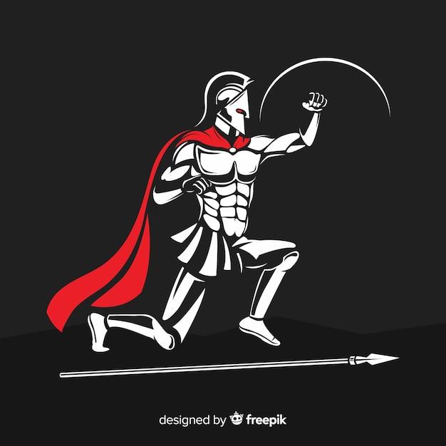 Spartan Free Vector