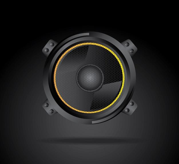 Speakers Premium Vector