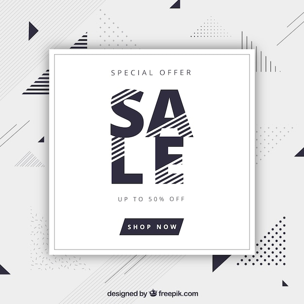 Special discounts background Free Vector