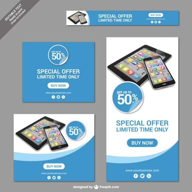 Special Offer Banners Vector Free Download - Special offer email template