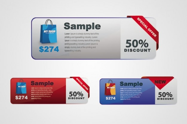 Special Offer Discount Price Tag Template Vector Free Download