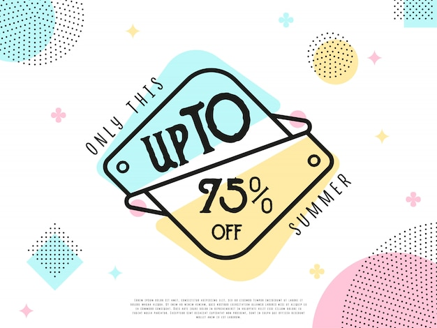 Special offer sale tag Premium Vector