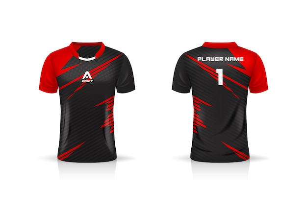 Premium Vector Specification Soccer Sport Esport Gaming T Shirt Jersey Template Uniform