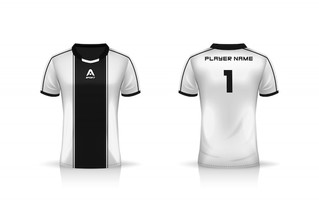 Premium Vector Specification Soccer Sport Esports Gaming T Shirt Jersey Template Uniform Illustration Design