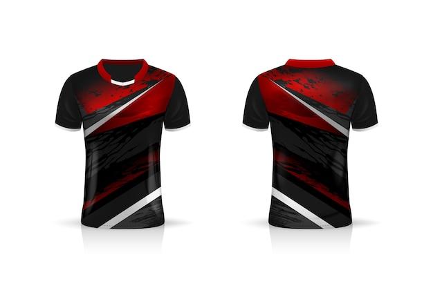 Specification soccer sport  , esports gaming t shirt jersey template.  uniform . Premium Vector