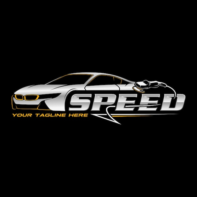 Speed detailing Premium Vector