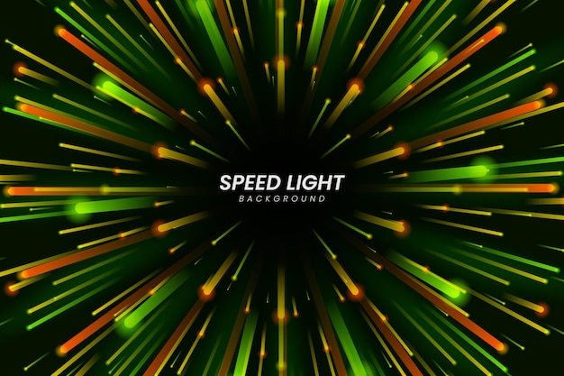 Speed lights wallpaper Free Vector