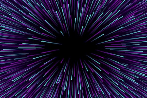 Скорость светло-фиолетового и синего фона Premium векторы