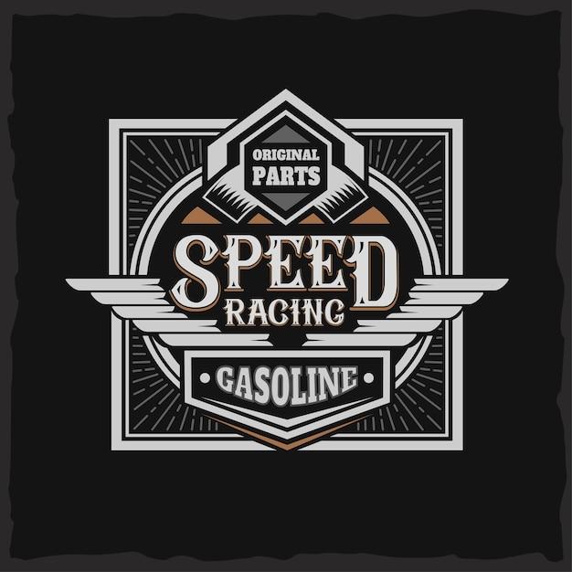 Gambar Mentahan Racing Gasoline