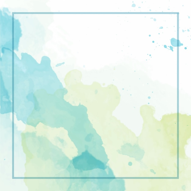 Splash watercolour background Premium Vector