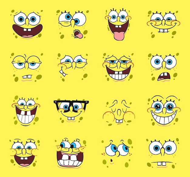 Spongebob Vector Cartoons Free Vector