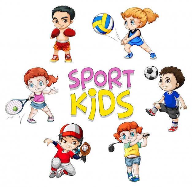 sport background character athlete sports cartoon vector soccer clipart baseball vectors deportes deporte imagenes para haciendo caricatura del