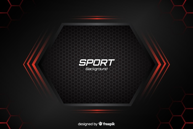 Pattern For Sport Wallpaper: Sport Background With Abstract Shapes Vector