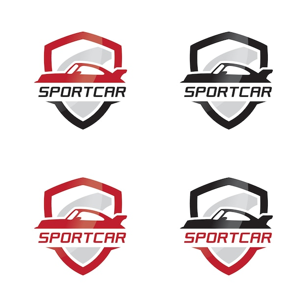 Sport Car Emblem Logo Vector Premium Download
