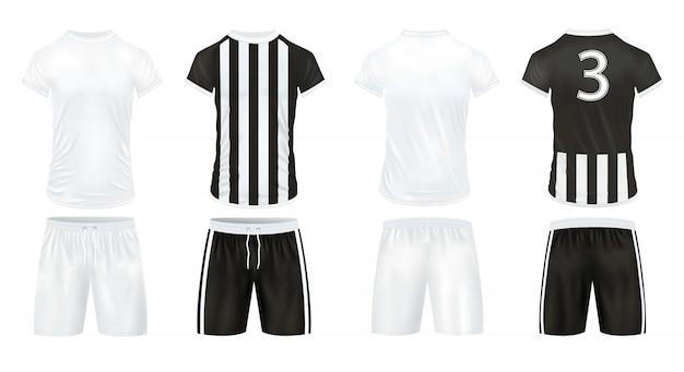 Set di abbigliamento sportivo Vettore gratuito