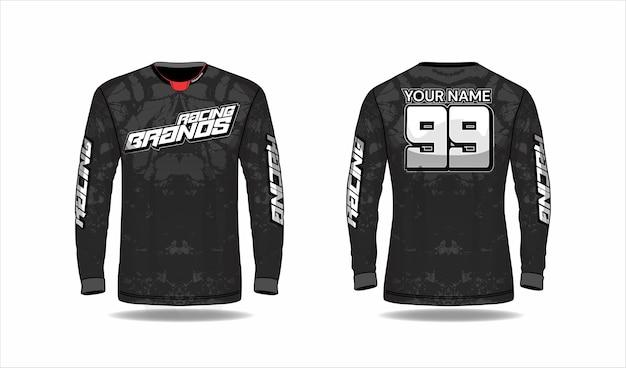 Sport jersey design concept Premium Vector