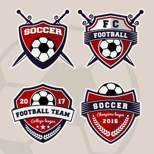 sport logos collection vector free download