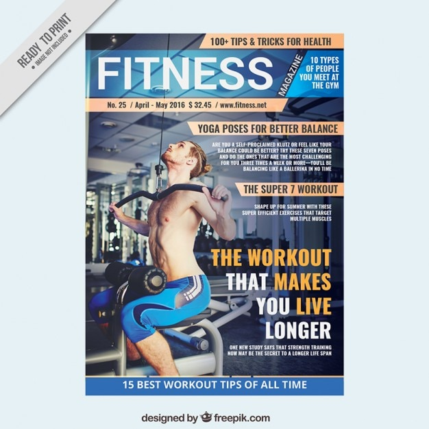 30 best magazine cover page designs psd templates sport magazine template of fitness maxwellsz