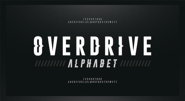 Sport modern italic alphabet font. typography wave style fonts Premium Vector