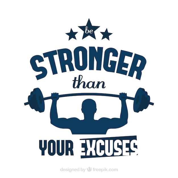 Sport quote background with inspirational\ message